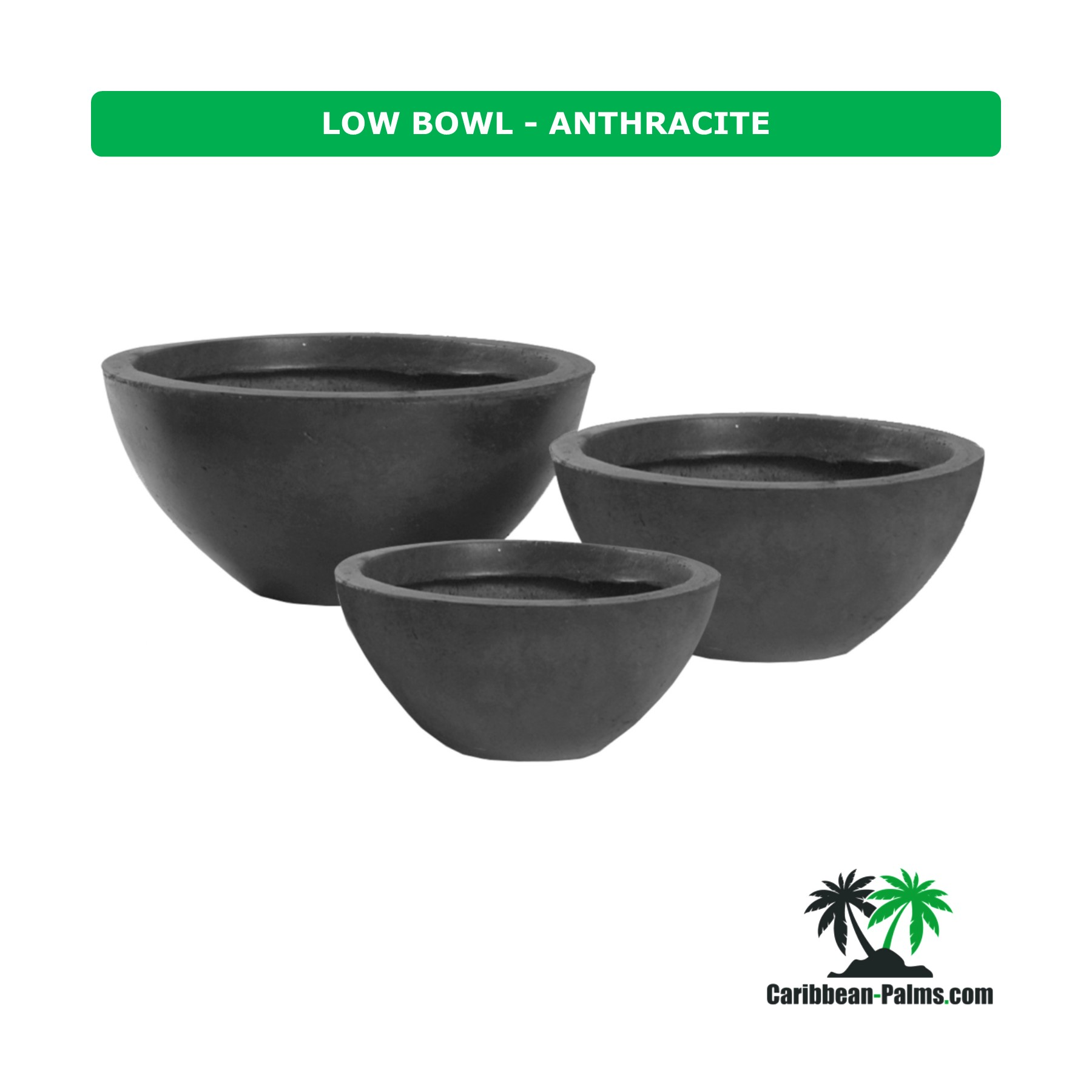LOW BOWL ANTHRACITE