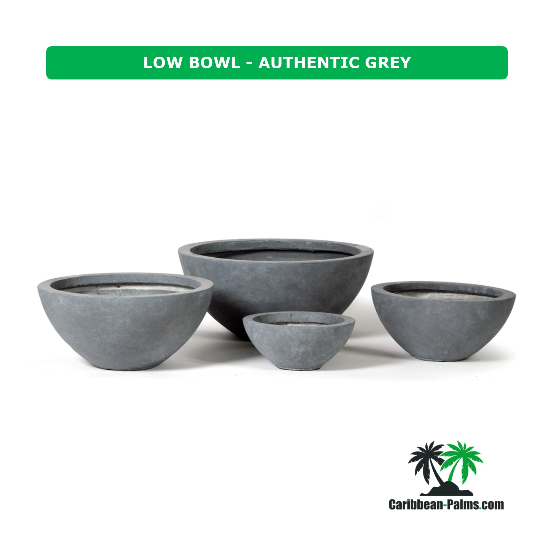 LOW BOWL AUTHENTIC GREY