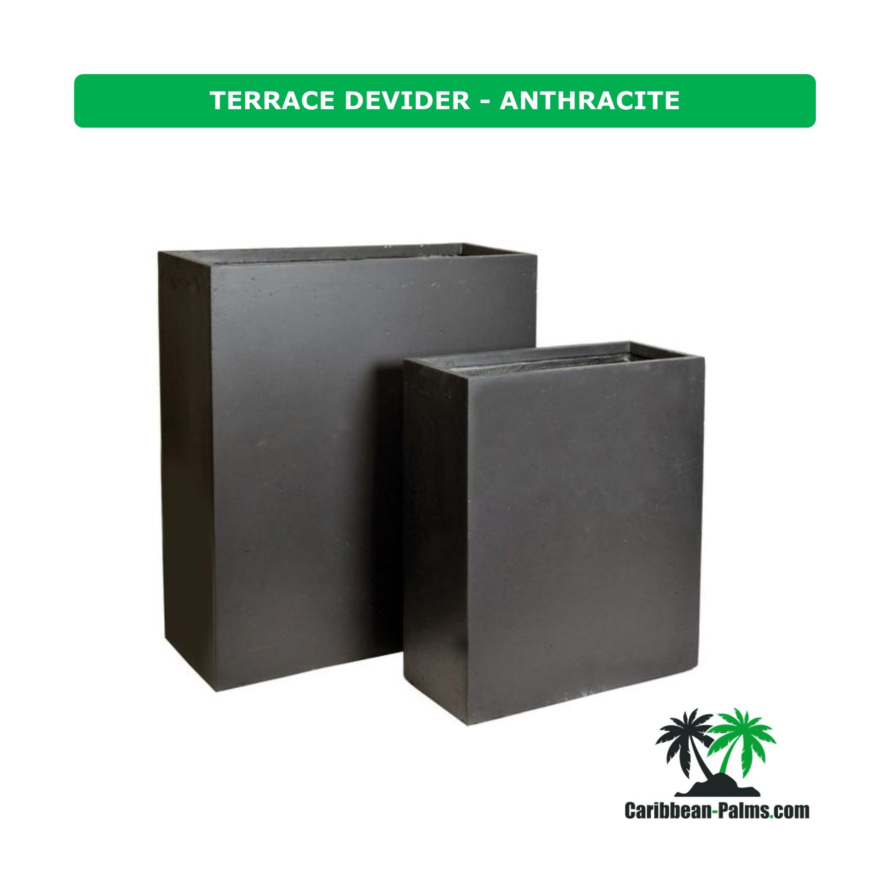TERRACE DEVIDER ANTHRACITE