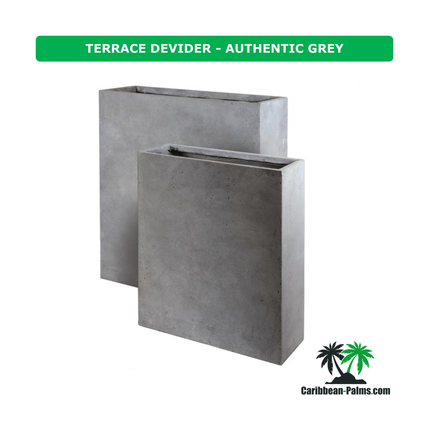 TERRACE DEVIDER AUTHENTIC GREY